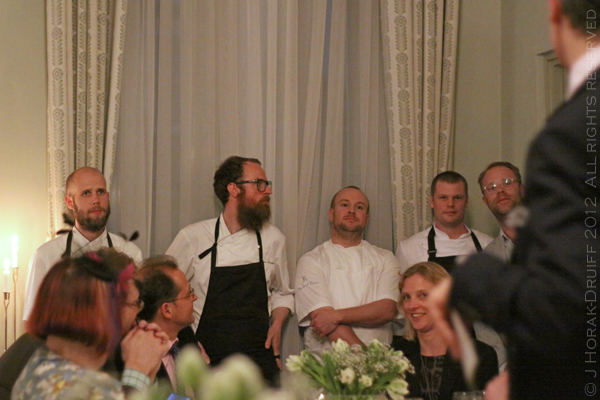 Swedish embassy chefs © J Horak-Druiff 2012