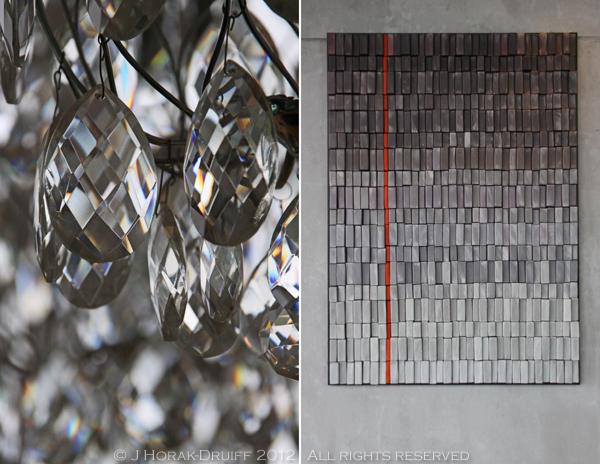 Waterkloof chandelier art © J Horak-Druiff 2012