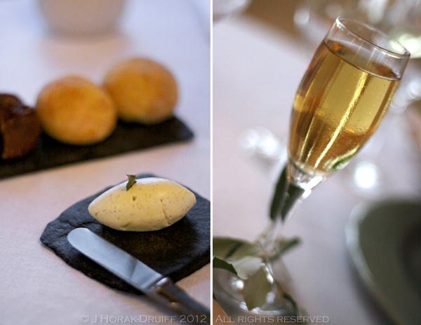 Bastide de Capelongue aperitif & bread  © J Horak-Druiff 2012