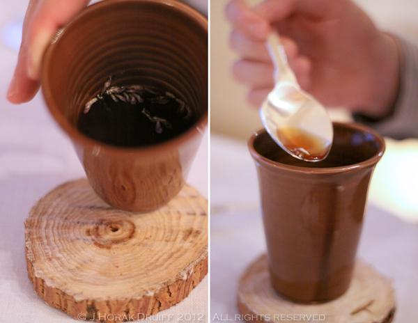 Bastide de Capelongue savoury tea © J Horak-Druiff 2012