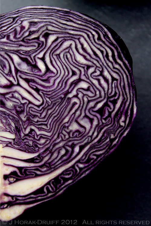 Red cabbage 1 © J Horak-Druiff 2012