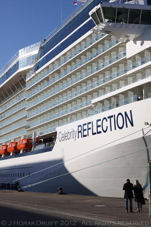 Celebrity Reflection dockside 2 © J Horak-Druiff 2012