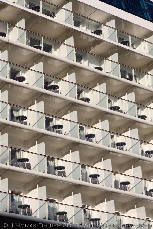 Celebrity Reflection balconies © J Horak-Druiff 2012