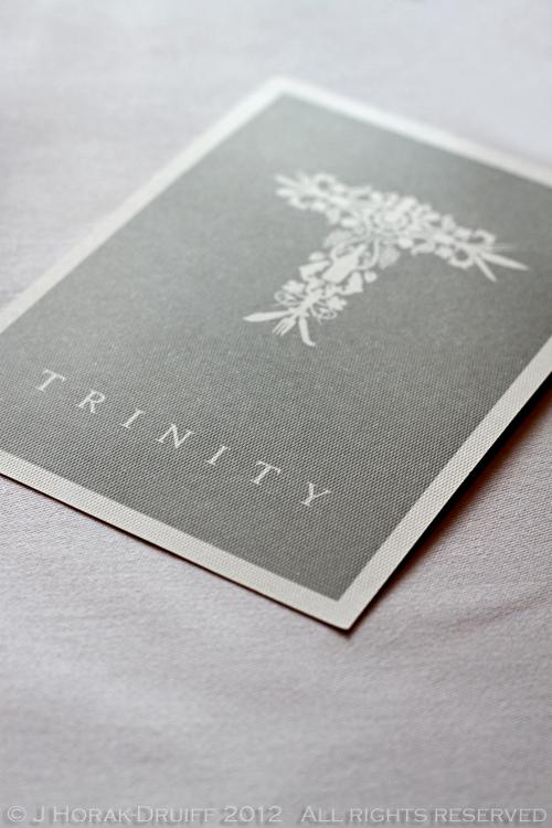 Trinity title © J Horak-Druiff 2012