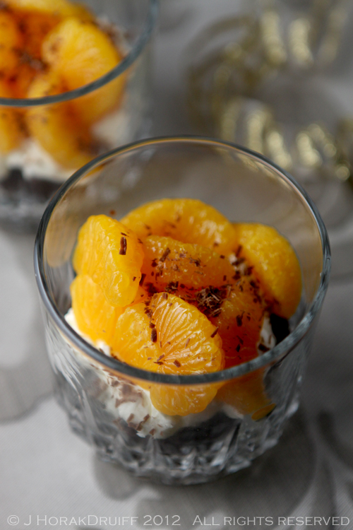 Post image for Chocolate orange trifle in a glass – and a Bluebasil brownie giveaway [closed]