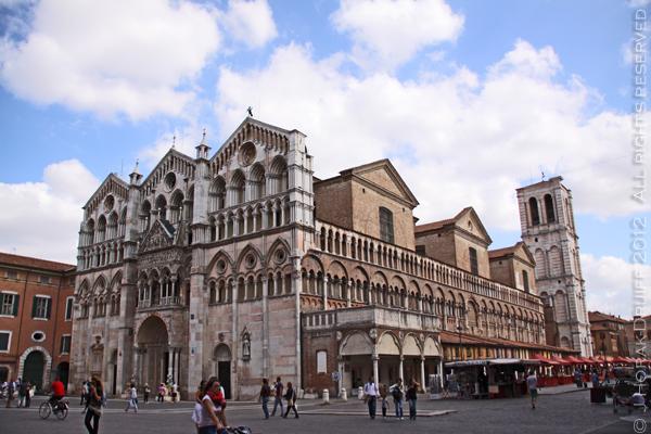 Ferrara basilica title © J Horak-Druiff 2012