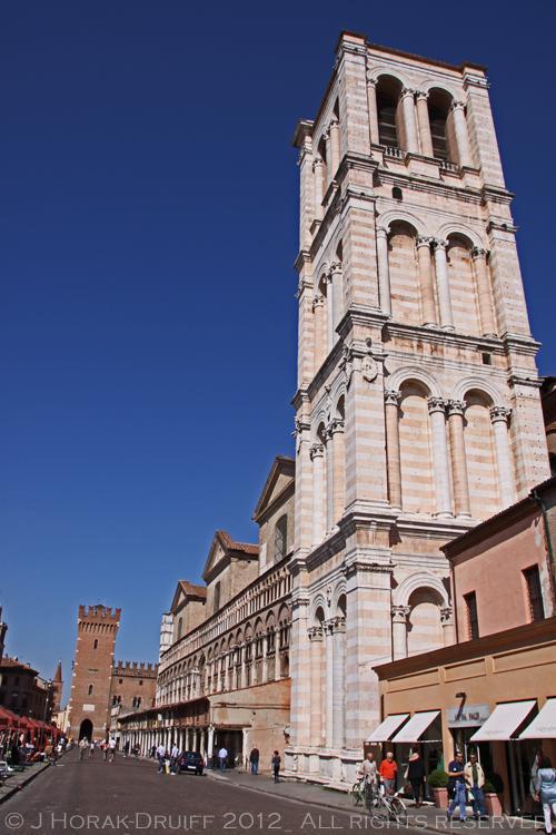 Ferrara Basilica tower © J Horak-Druiff