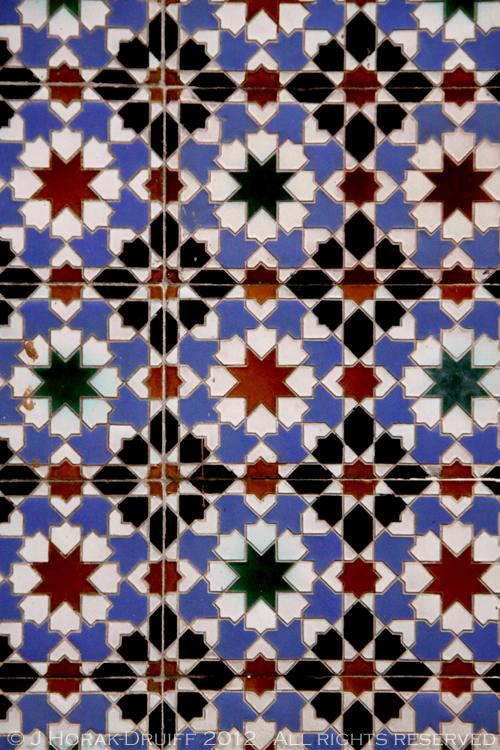 Casa Do Alentejo tiles in Lisbon © J Horak-Druiff 2012