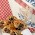 Boerewors mini sausage rolls