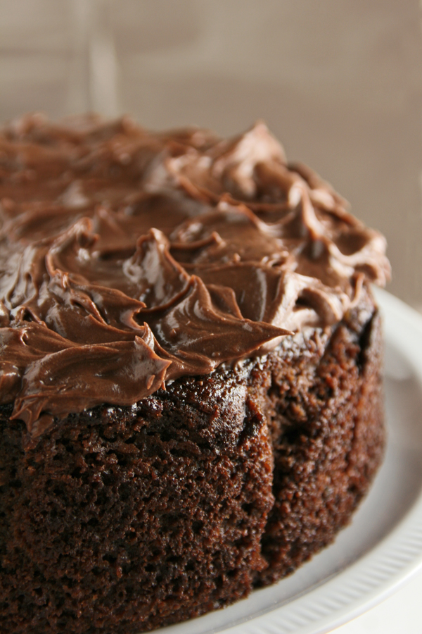 Post image for Spiced chocolate orange cake: decadently gluten-free
