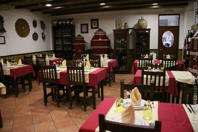 Portugal Atalha restaurant © J Horak-Druiff 2012