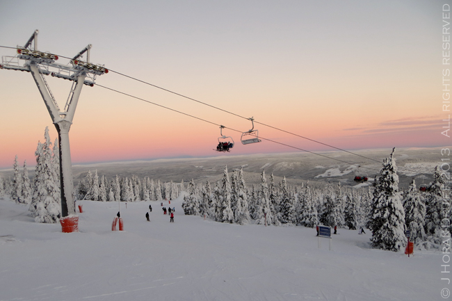 Trysil sunset © J Horak-Druiff 2013