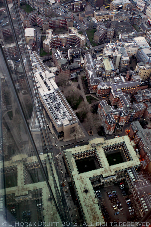 View from The Shard looking down © J Horak-Druiff 2013