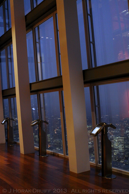 The Shard Interior dusk © J Horak-Druiff 2013