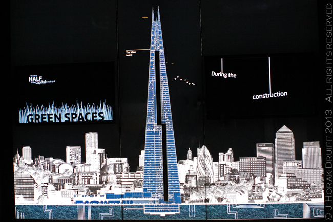 View from The Shard mural © J Horak-Druiff 2013