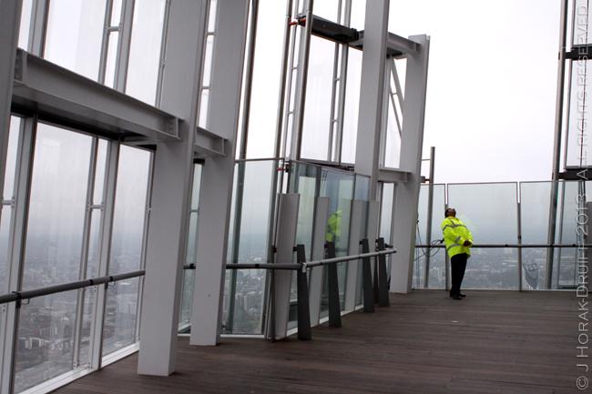 View from The Shard open platform © J Horak-Druiff 2013