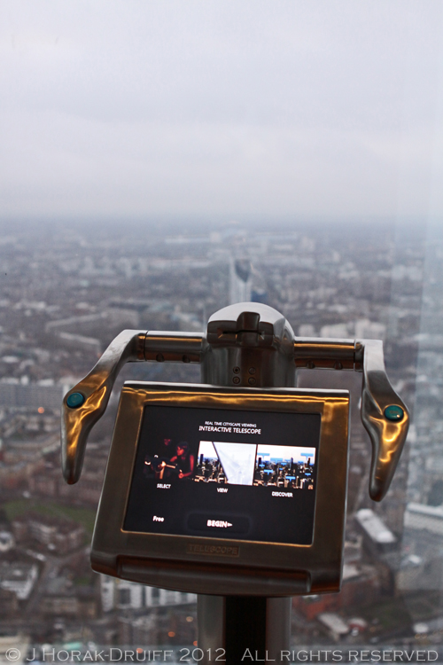 The Shard Tellscope day  © J Horak-Druiff 2013