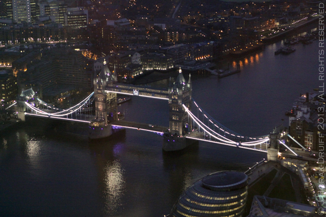 The Shard Tower Bridge at night © J Horak-Druiff 2013