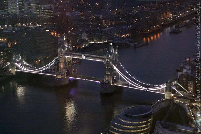 The Shard Tower Bridge at night © J Horak-Druiff 2013