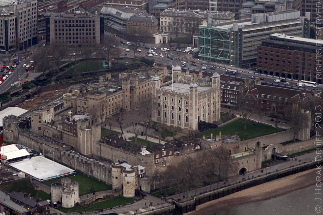 View from The Shard Tower Of London © J Horak-Druiff 2013