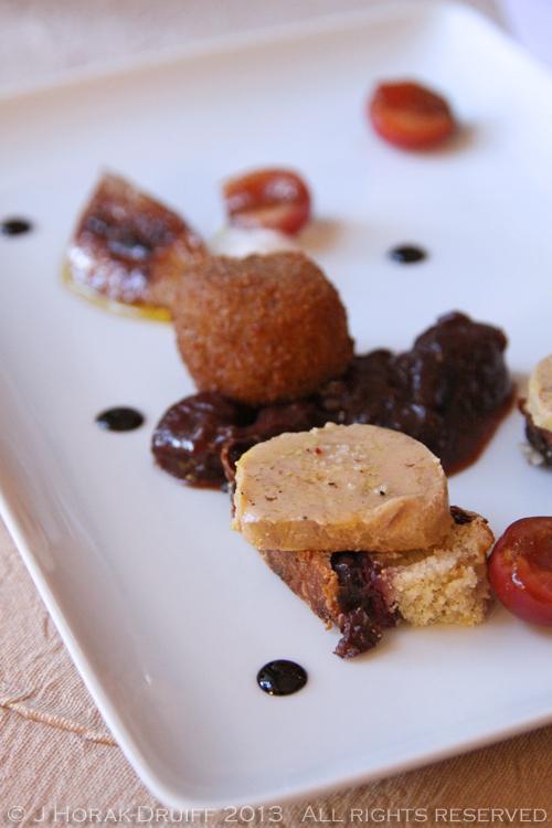 Chateau de Mazan foie gras © J Horak-Druiff 2013