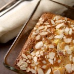 Easy peach, almond & ginger cobbler recipe
