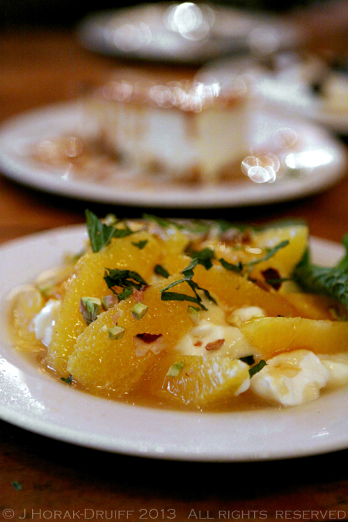 The Real Greek Dessert oranges © J Horak-Druiff 2013