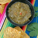 Salsa verde with green tomatoes and the illusion of control