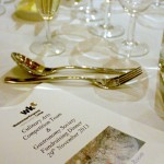 Dinner at Westminster Kingsway College with WineTrust 100