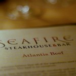 Seafire Steakhouse @ Atlantis The Palm