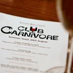 Club Carnivore @ Vivat Bacchus