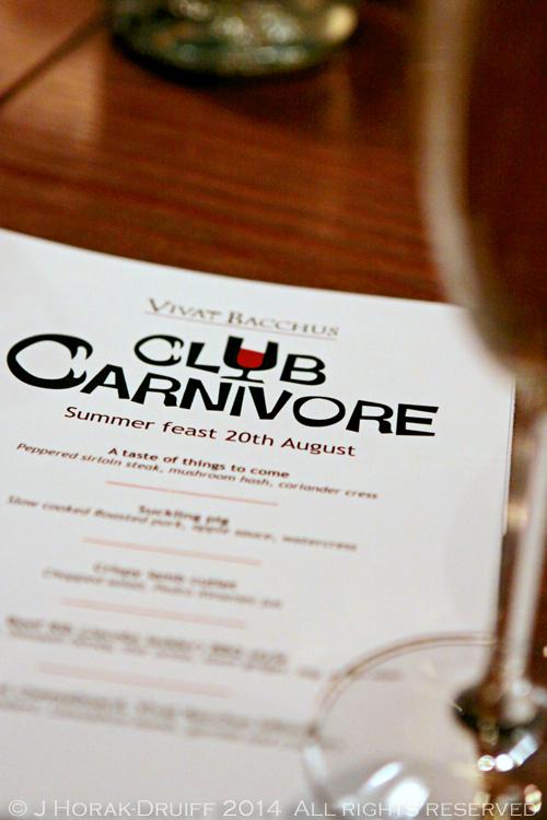 ClubCarnivoreTitle © J Horak-Druiff 2014