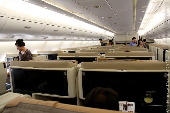 SingaporeAirlinesA380BusinessClassCabin © J Horak-Druiff 2014