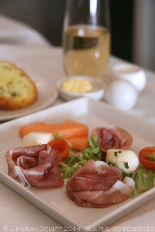 Singapore Airlines Business Class Ham Starter