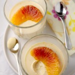 Blood orange posset