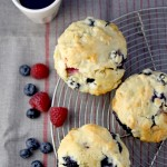 These muffins are stuffed with the goodness of berries and the indulgence of white chocolate. Whip up a batch in 45 minutes or less!