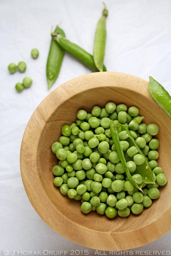 Raw peas