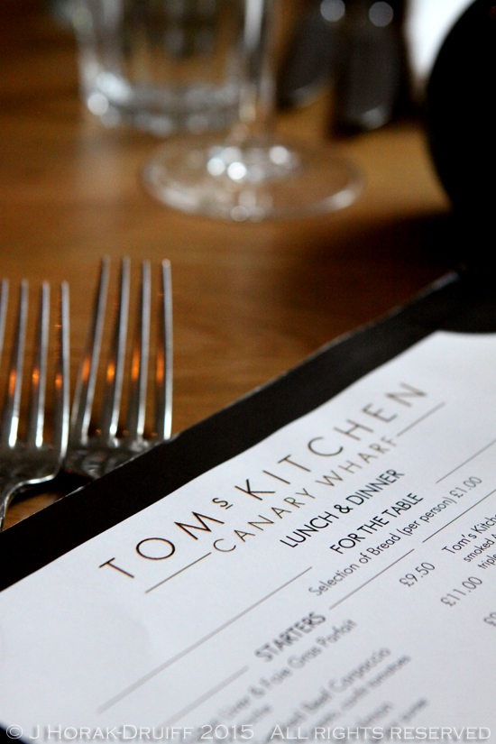 A review of Tom's Kitchen, Chelsea