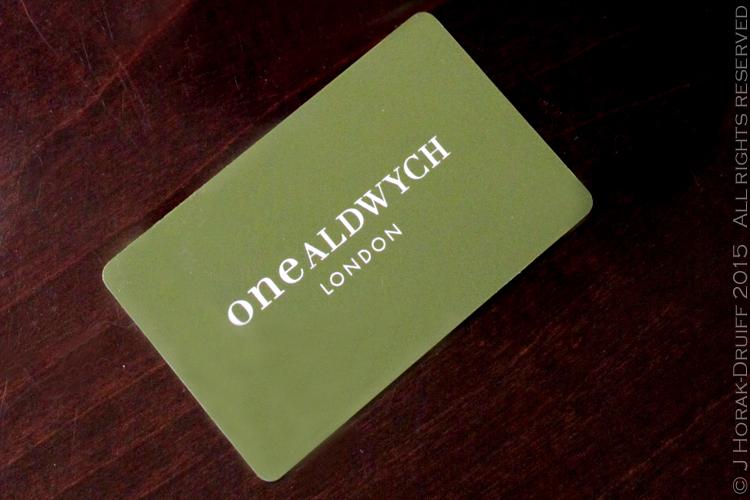 OneAldwychCard