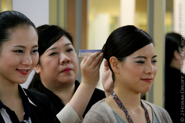 Behind The Scenes At Singapore Airlines Airline Meals And Crew - Army hairstyle singapore