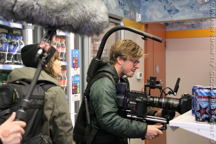 Chef-Jacques-La-Merde-Filming
