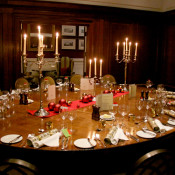 Christmas private dining @ Marriott County Hall