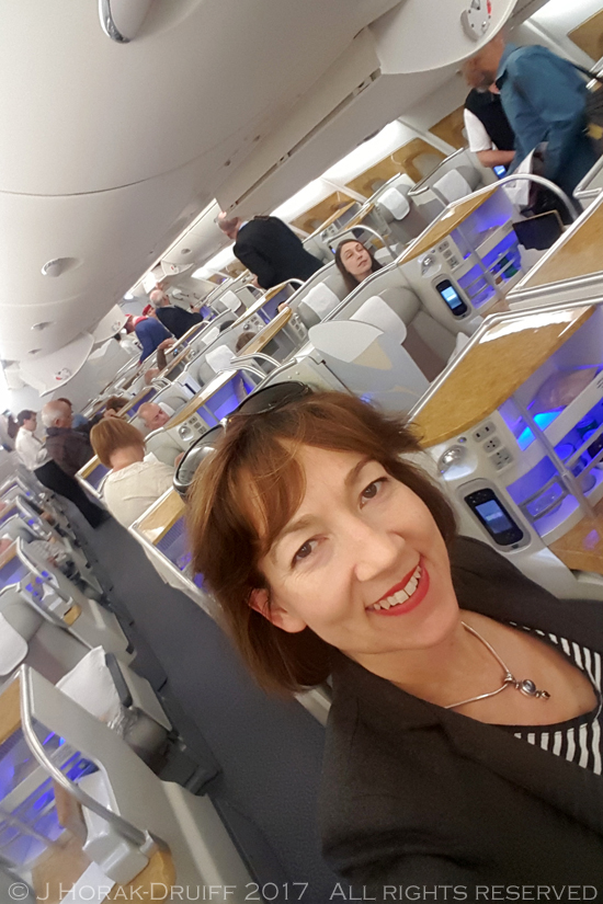 Emirates-Business-Class-Selfie