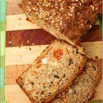 Zucchini-peppadew-feta-bread