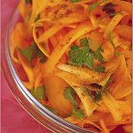 Cool, crispy carrot and coriander salad