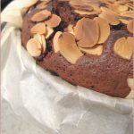 Flourless chocolate, blackberry and almond torte