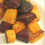 Rosemary roasted beetroot and butternut