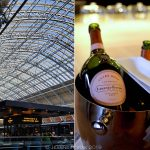 Champagne brunch at St Pancras Brasserie