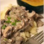 If life gives you leftover roast lamb, make lamb Stroganoff!