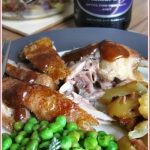 Roast duck with pancetta and potatoes – an alternative Christmas meal